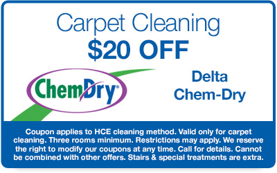 $20 off carpet cleaning