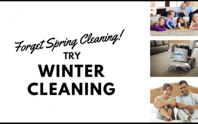 Forget Spring Cleaning – Try Winter Cleaning