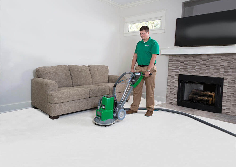 carpet cleaning tech in redondo beach, ca